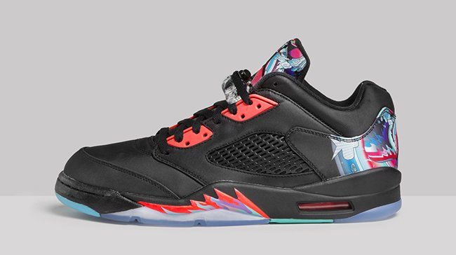 CNY Air Jordan 5 Low Release
