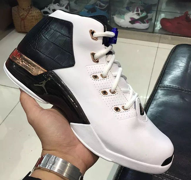 the best attitude 7657f 230f2 Copper Air Jordan 17 Retro 2016