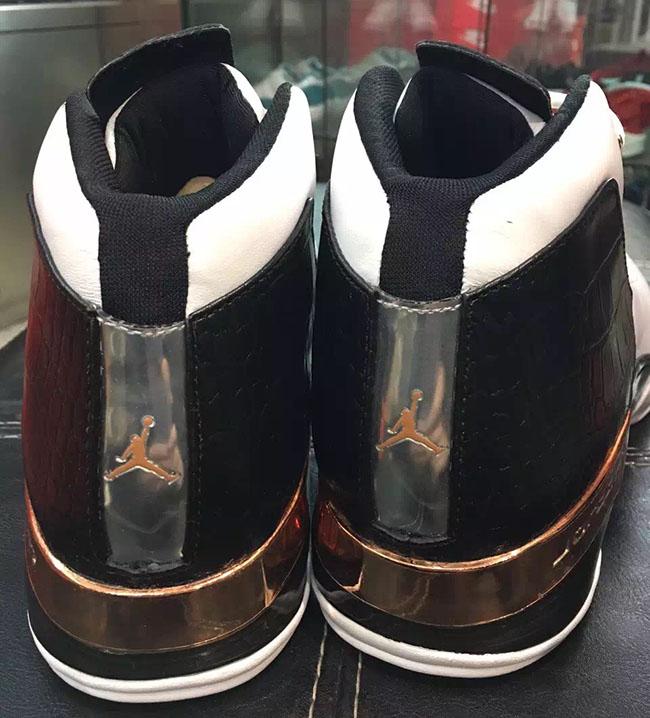 Copper Air Jordan 17 Retro 2016
