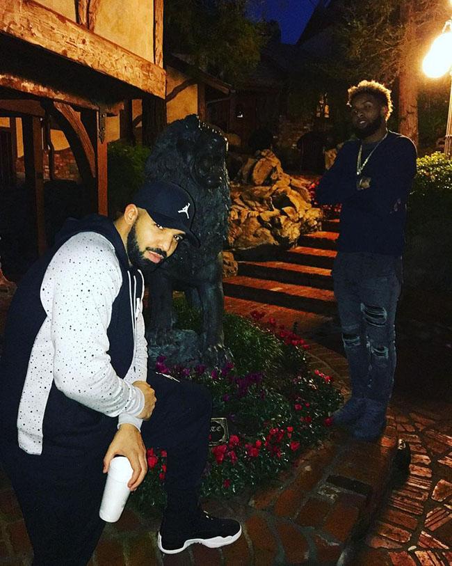 Drake Odell Beckham PSNY Air Jordan 12