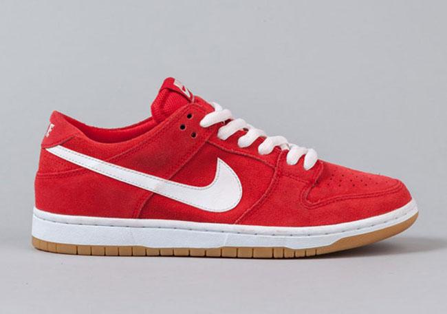 45b8c69f48a9 Ishod Wair Nike SB Dunk Low University Red