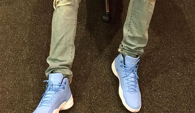 Jimmy Butler Air Jordan 12 Pantone