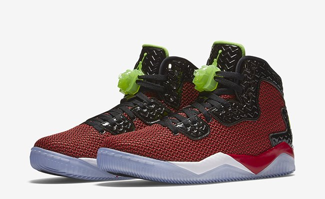 Jordan Air Spike 40 Red Ghost Green February 2016