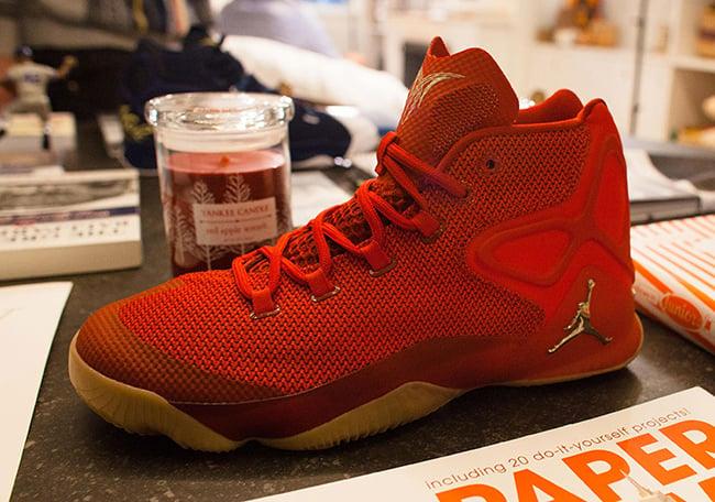 Jordan Melo M12 Red Gum