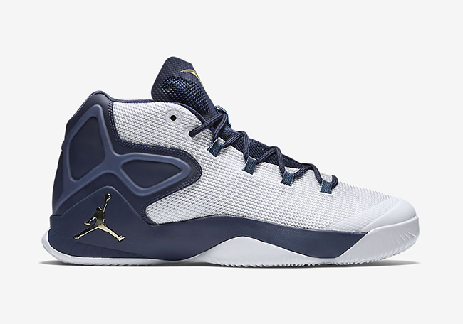 Jordan Melo M12 Yankees White Navy