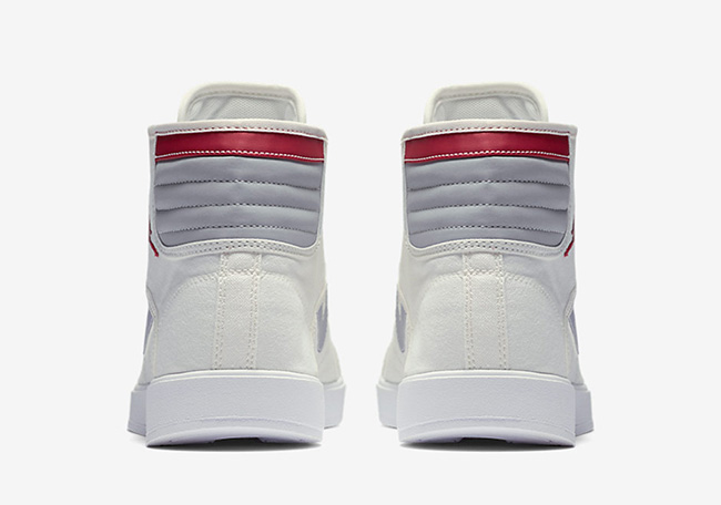 Jordan Sky High OG White Grey Red 2016