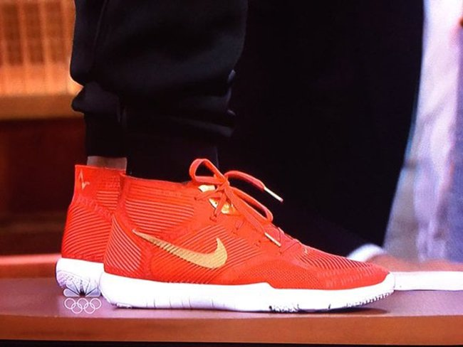 Kevin Hart Nike Trainer Hustle Harts Red