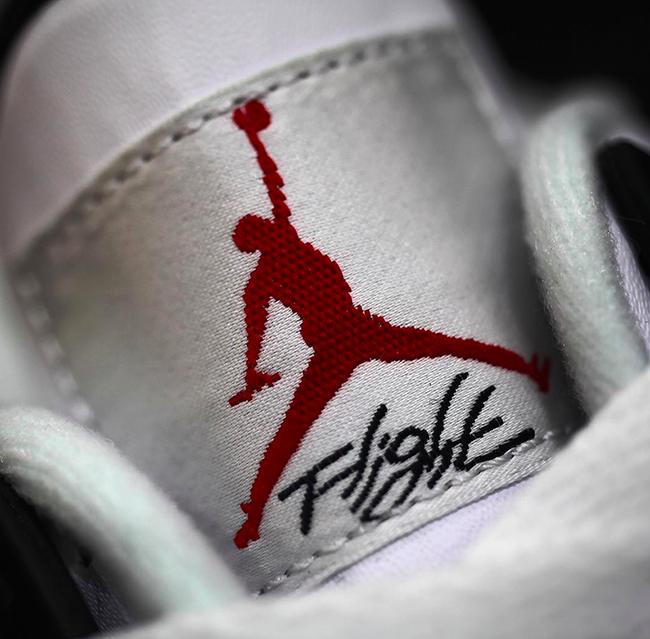 Kids Nike Air Jordan 4 White Cement GS