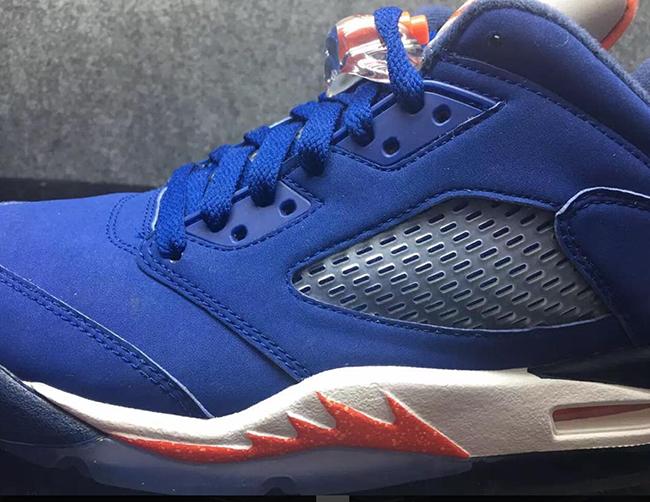 Knicks Air Jordan 5 Low Retro