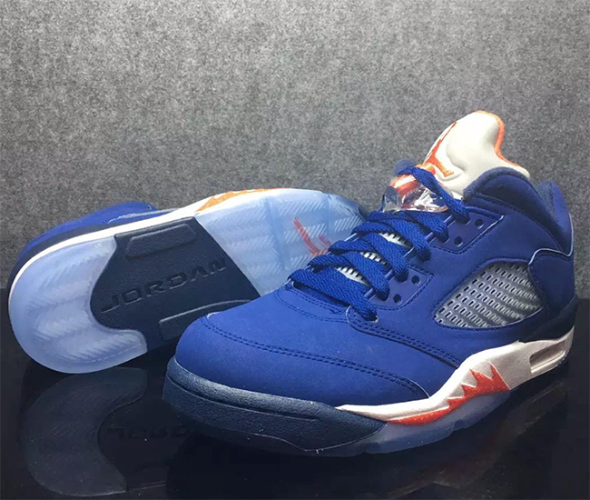 Knicks Air Jordan 5 Low Retro