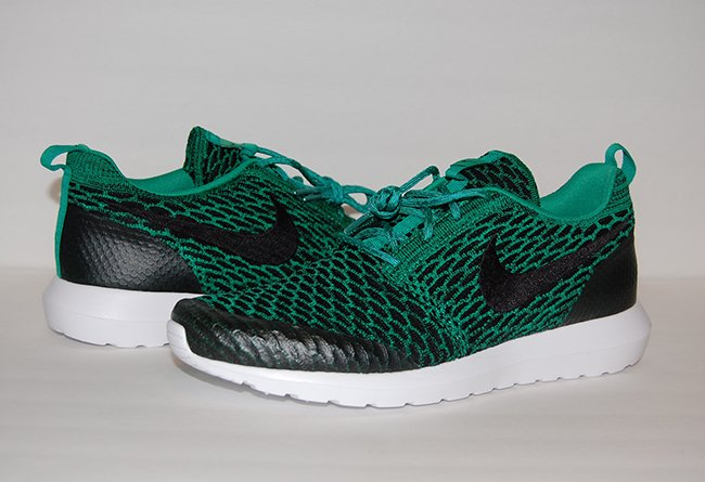 meet 1e21f 6cfa1 Lucid Green Nike Roshe Flyknit NM
