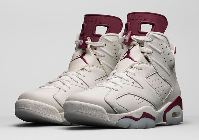 Maroon Air Jordan 6 Restock February 2016