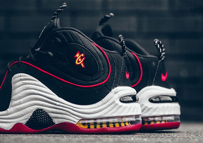 Miami Heat Nike Air Penny 2 2016