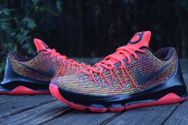 the best attitude f791b fd808 Nike KD 8 Multicolor Custom