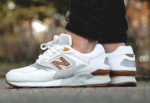 New Balance ML878ATA White Grey Brown