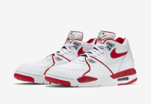 Nike Air Flight 89 White Red Black