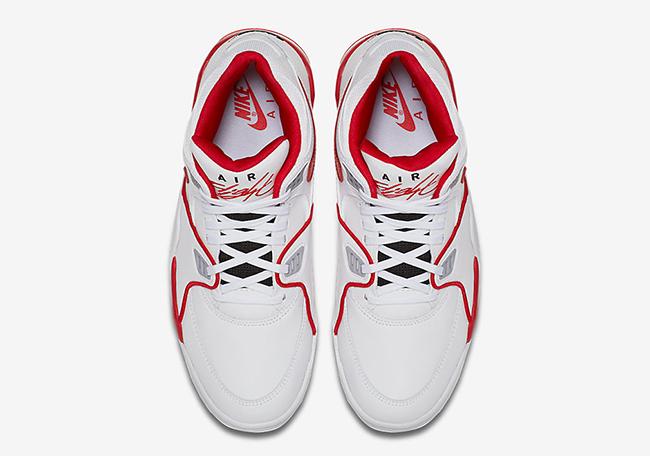 Nike Air Flight 89 White Red Black