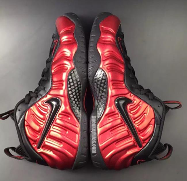 Nike Air Foamposite Pro University Red Black 2016