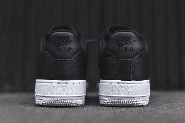 Nike Air Force 1 07 LV8 Black Ostrich