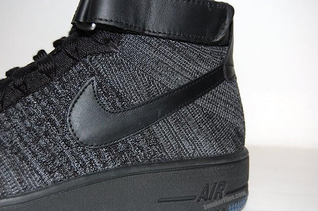 b0b15096997 Nike Flyknit Air Force 1 Black