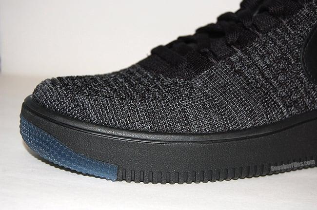 Nike Air Force 1 Flyknit Black