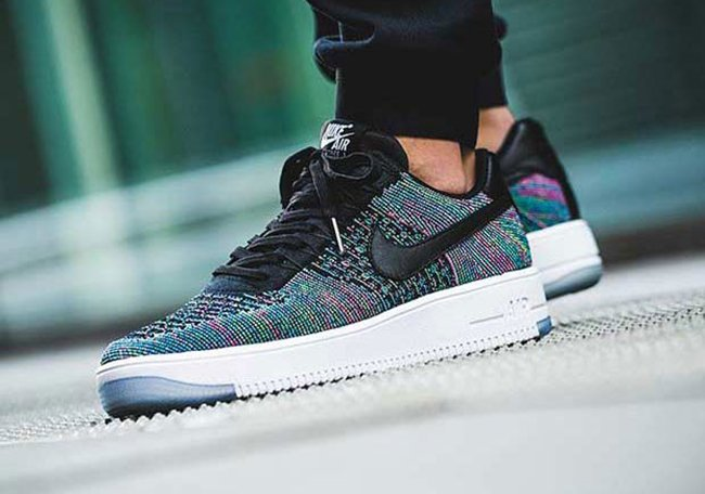 Nike Air Force 1 Low Multicolore Flyknit MKtYmm