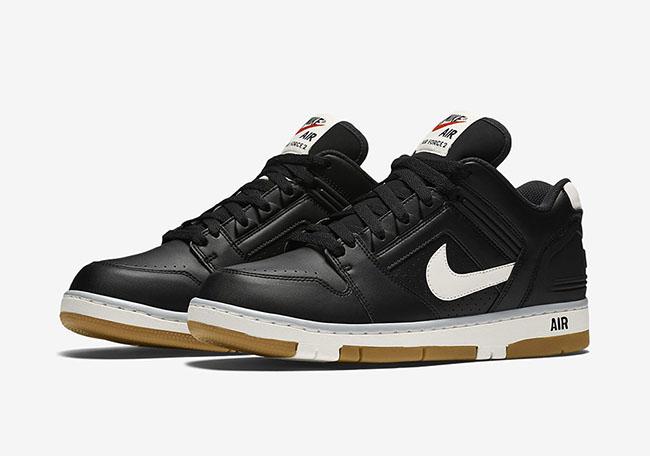 Nike Air Force 2 Low Black Gum