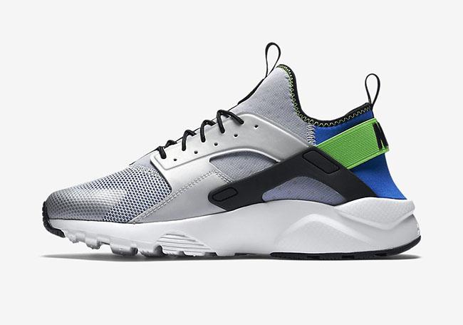 Nike Air Huarache Ultra Royal Blue Scream Green