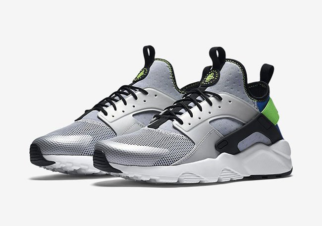 nike huaraches ultra green