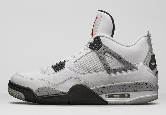 Nike Air Jordan 4 OG White Cement February 2016
