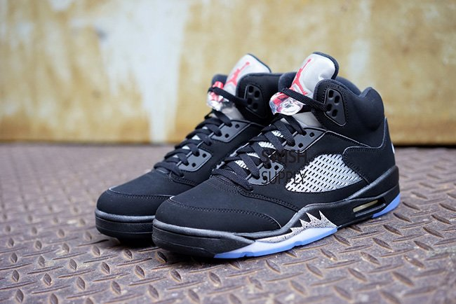 Nike Air Jordan 5 OG Black Metallic