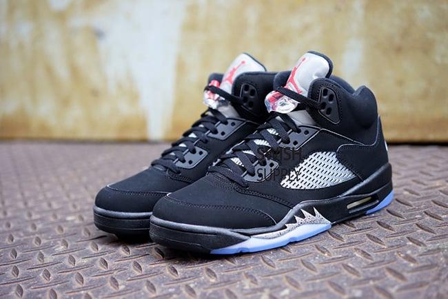 61c80e6d9e4a2b Nike Air Jordan 5 OG Black Metallic