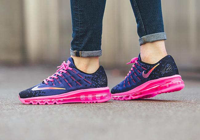 Nike Air Max 2016 Print Deep Night Pink Blast