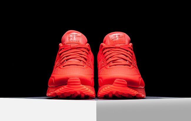 differently 52078 ab438 Nike Air Max 90 Ultra Moire Bright Crimson high-quality
