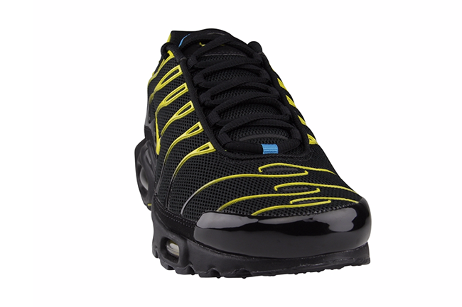 online store 48128 22992 Nike Air Max Plus Tuned 1 Black Tour Yellow