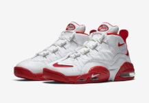 Nike Air Max Sensation White Red