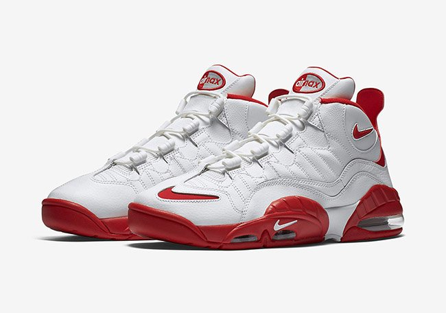 Nike Air Max Sensation White Red