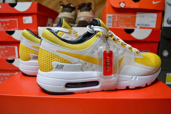 sneakers for cheap 8b385 8a0cf Nike Air Max Zero Tinker Hatfield Yellow