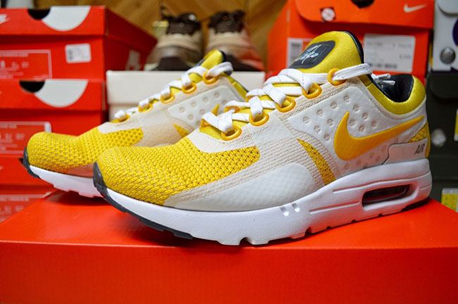 Nike Air Max Zero Tinker Hatfield Yellow