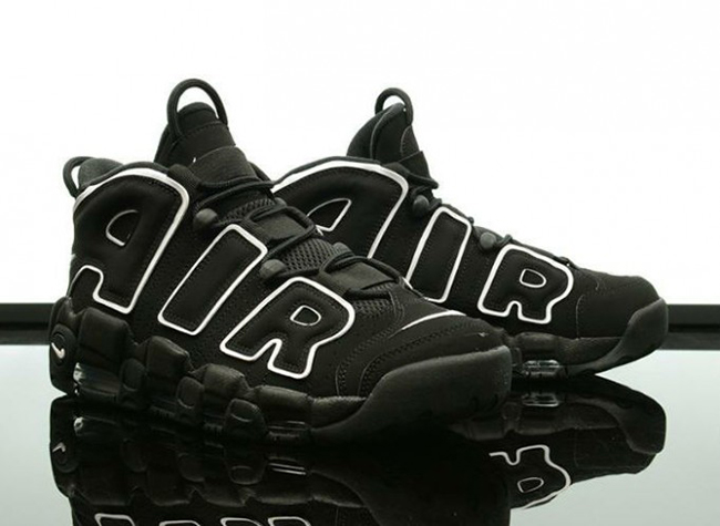Nike Air More Uptempo OG Black White