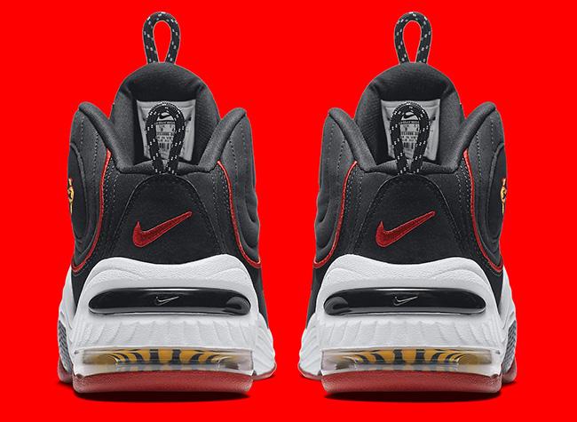 Nike Air Penny 2 Miami Heat Retro 2016