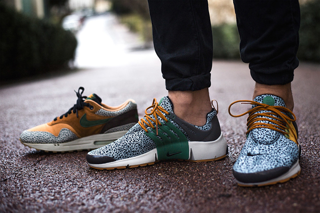 Nike Air Presto Se Woven On Feet