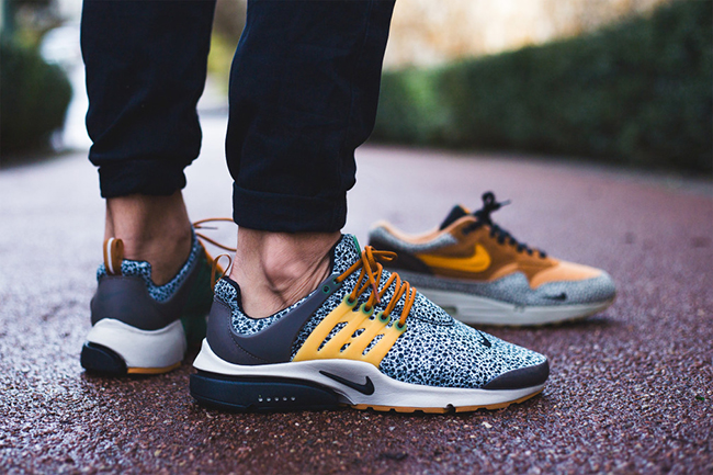 Nike Air Presto Safari On Feet