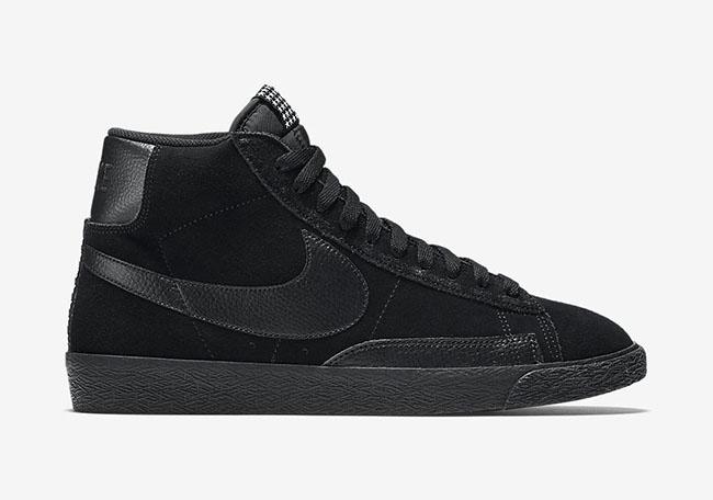 Nike Blazer Mid PRM VNTG Stars Black