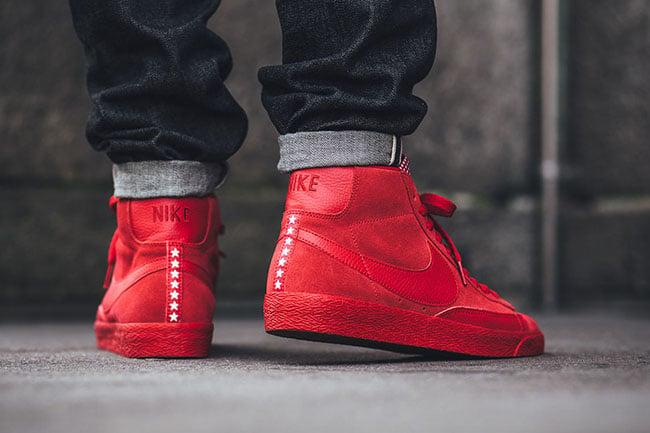 Nike Blazer Mid Red Pivot Stars