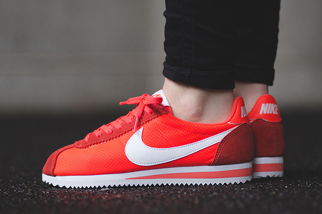 Nike Cortez Black Crimson