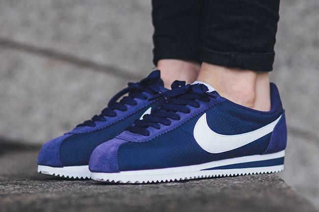 Nike Classic Cortez Nylon Schwarz