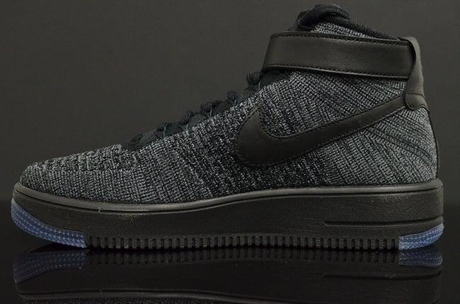 Nike Flyknit Air Force 1 Black