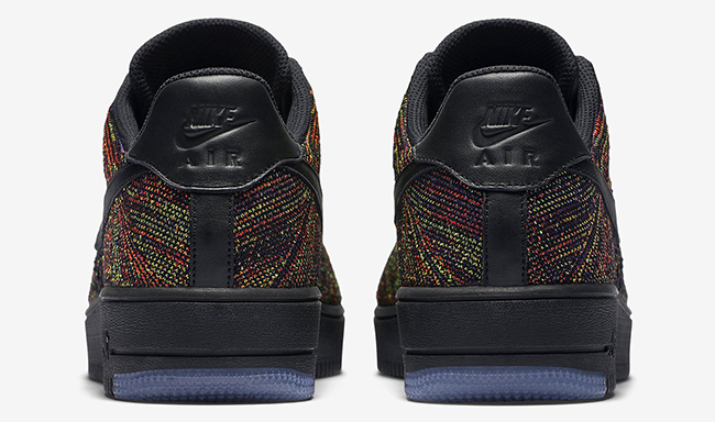 Nike Flyknit Air Force 1 Low Multicolor