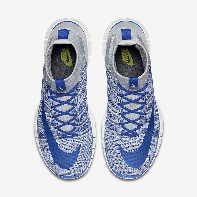 Nike Free Flyknit Mercurial Superfly Wolf Grey